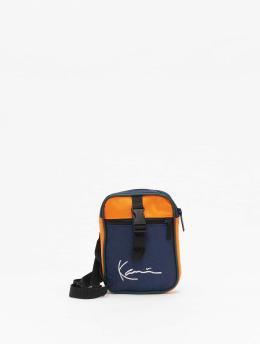 Karl Kani Tasche Signature Block blau