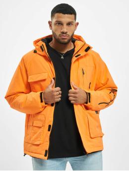 Karl Kani Transitional Jackets Kk Signature Padded oransje