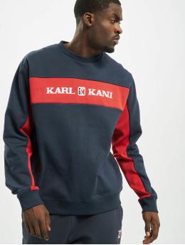 Karl Kani trui Retro Block  blauw
