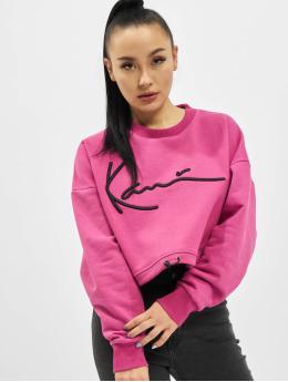 Karl Kani trui Kk Signature Short  pink