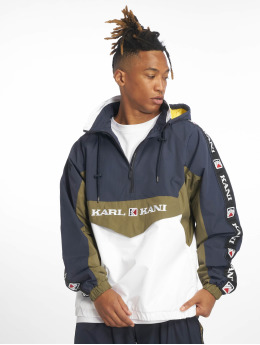 Karl Kani Übergangsjacke Retro Block Transition blau
