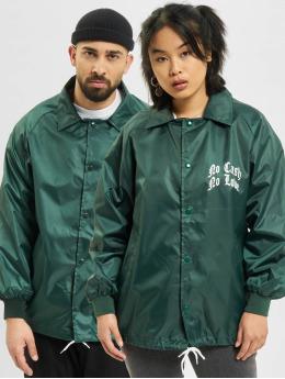 Keine Liebe Lightweight Jacket No Love green