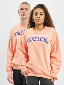 Keine Liebe Sweat & Pull  College Crewneck Orange...