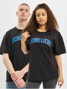 Keine Liebe T-Shirt  College T-Shirt Black...