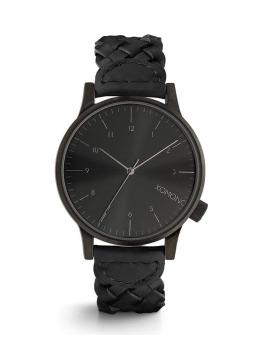 Komono Uhr Winston schwarz