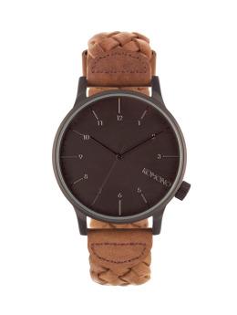 Komono Uhr Winston Woven schwarz