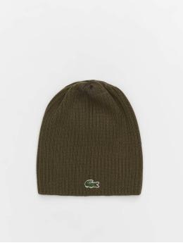 Lacoste шляпа Double Rib серый