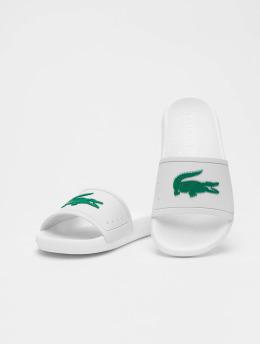 Lacoste Badesko/sandaler Croco 119 3 CFA hvit