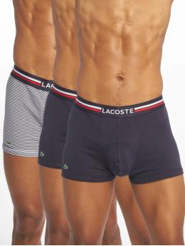 Lacoste boxershorts 3-Pack Trunk zwart
