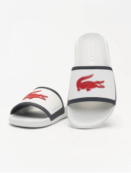 Lacoste Claquettes & Sandales Croco Slide Tri III CMA blanc