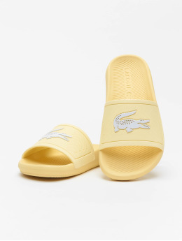 Lacoste   Croco 120 1 CFA jaune Femme Claquettes & Sandales
