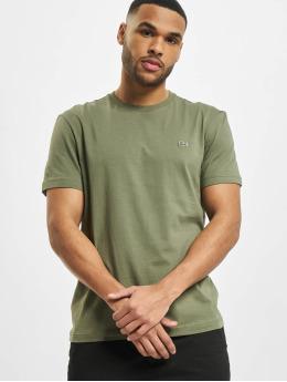Lacoste Classic T-Shirty Classic oliwkowy