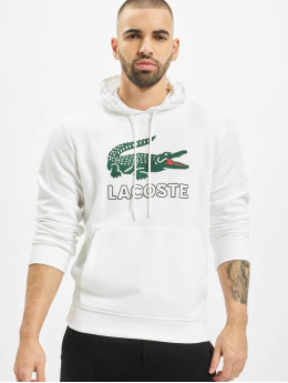 Lacoste Hoodie Logo white