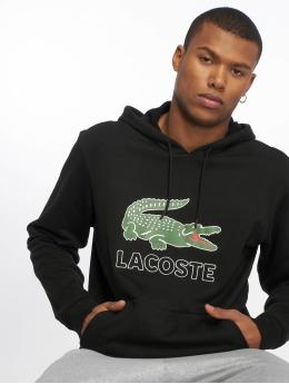 Lacoste Hoodies Logo čern