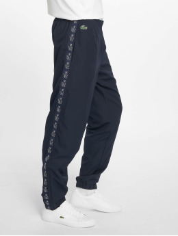 Lacoste joggingbroek Croco Stripe blauw