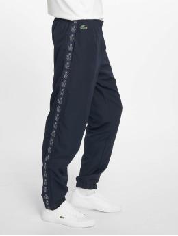 Lacoste Joggingbyxor Croco Stripe blå