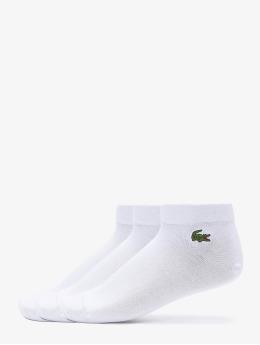 Lacoste Ponožky 3-Pack bílý