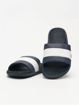 Lacoste Sandals Croco Slide 120 3 US CMA blue