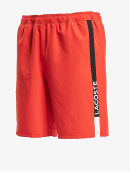Lacoste Shorts Diamond rosso