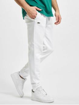 Lacoste Spodnie do joggingu Logo  bialy