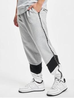 Lacoste Spodnie do joggingu Stripe  szary