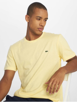 Lacoste t-shirt Classic geel