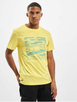 Lacoste t-shirt Logo geel