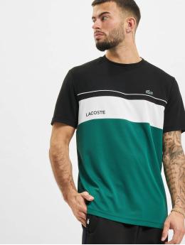 Lacoste T-Shirt Stripe  noir