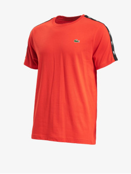 Lacoste t-shirt Tape rood