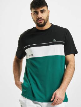 Lacoste T-Shirty Stripe czarny