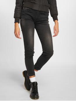 Le Temps Des Cerises Skinny Jeans Powerhig czarny