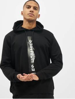 Les Hommes Hoody Logo  schwarz
