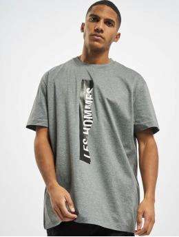 Les Hommes T-Shirt Logo grey