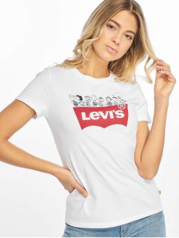 Levi's® Футболка The Perfect Tee Peanuts белый