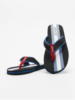 Levi's® Шлёпанцы Dodge Sportswear черный
