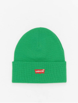 Levi's® Beanie Red Batwing Embroidered Slouchy green