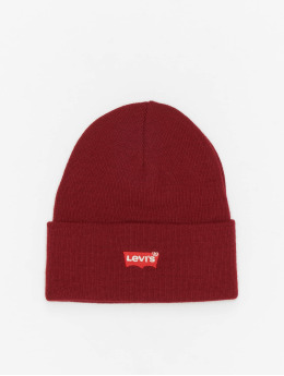 Levi's® Beanie Red Batwing Embroidered Slouchy  red