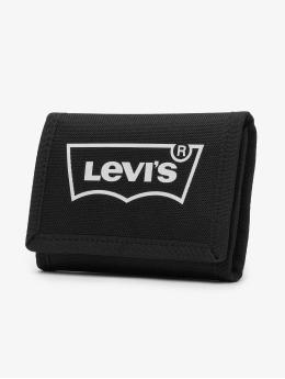Levi's® Cartera Basics Bowers Trifold Hollow Batwing negro