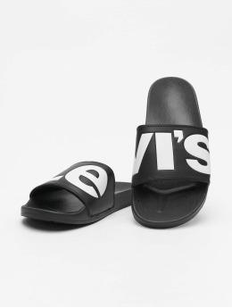 Levi's®   June L noir Homme Claquettes & Sandales