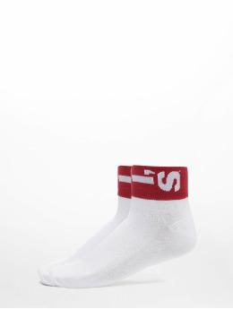 Levis® Dobotex Socken 168SF Mid Cut Lazy Tab 2 Pack weiß