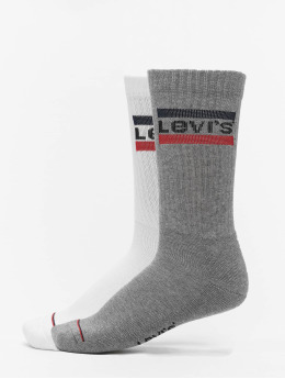 Levis® Dobotex Socken 144NDL Regular Cut Sportswear Logo 2P weiß