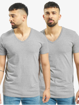 Levis® Dobotex T-Shirt V-Neck 2P gris