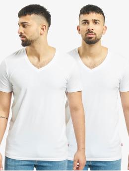 Levis® Dobotex T-Shirt V-Neck 2P weiß