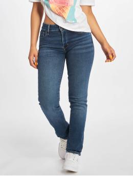 Levi's® dżinsy przylegające 712 Slim niebieski