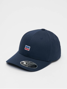 Levi's® Flexfitted Cap Mini Sportswear Logo blauw