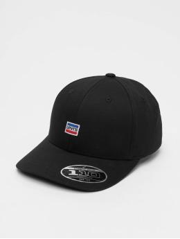 Levi's® Flexfitted Cap Mini Sportswear Logo zwart