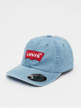 Levi's® Lastebilsjåfør- / flexfitted caps Big Batwing Flex blå