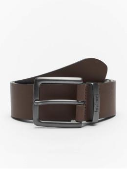 Levi's® Paski New Albert Metal brazowy
