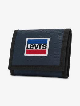Levi's® portemonnee Sportswear Patch Trifold blauw