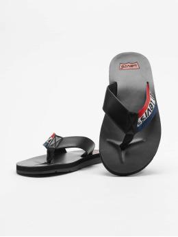 Levi's® Slipper/Sandaal Jurupa Sportswear zwart